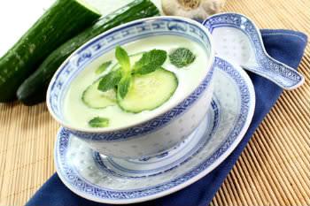 Receita de Sopa Fria de Pepino - sopa-fria-de-pepino