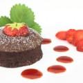Minis Suflê de Chocolate