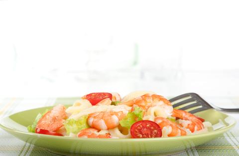 Receita de Salada de Camarões com Molho Agridoce - salada-de-camaroes-com-molho-agridoce