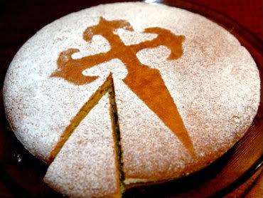 Receita de Torta de Santiago - torta-de-santiago