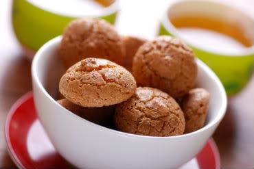 Receita de Biscoito Amaretto (Duas versões)
