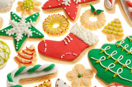 Receita de Biscoitos Decorados para o Natal