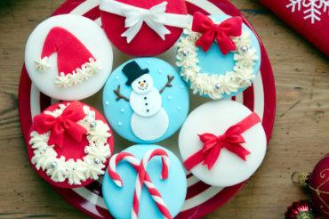 Receita de Cupcakes de Natal Irresistíveis! - cupcakes-de-natal-irresistiveis