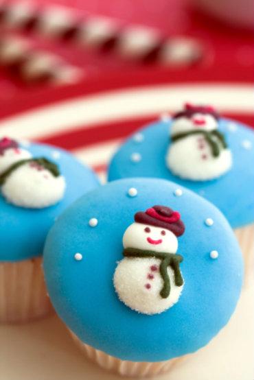 Receita de Cupcakes de Natal Irresistíveis! - iStock_000011364307XSmall