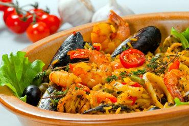 Receita de Paella - paella