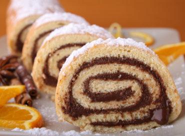 Receita de Rocambole com Recheio de Chocolate - rocambole-com-recheio-de-chocolate