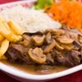 Carne com Champignon