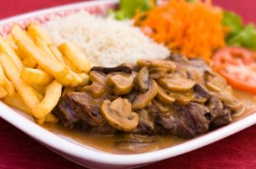 Receita de Carne com Champignon - carne-com-champignon