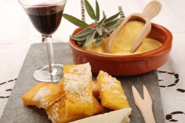 Receita de Polenta Temperada Frita - polenta-temperada-frita