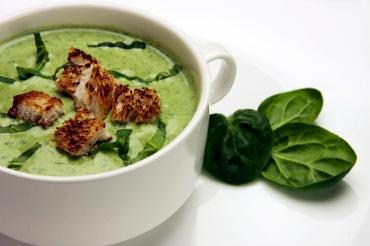 Receita de Sopa Creme de Espinafre - sopa-creme-de-espinafre