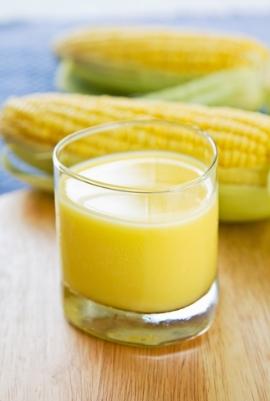 Receita de Suco de Milho - suco-de-milho