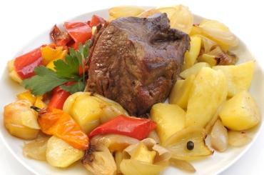 Receita de Carne Assada com Legumes - carne-assada-com-legumes
