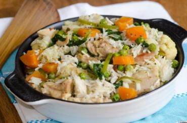 Receita de Arroz de Forno  - arroz-de-forno