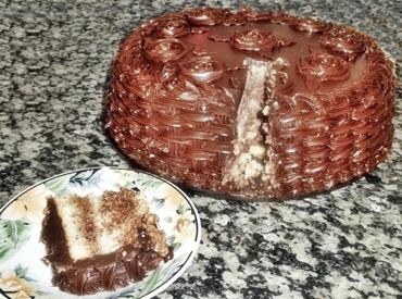 Receita de Bolo de Mousse de Nutella e Cobertura de Ganache - bolo-de-mousse-de-nutella-e-cobertura-de-ganache
