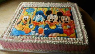 Receita de Bolo Turma da Disney - bolo-turma-da-disney
