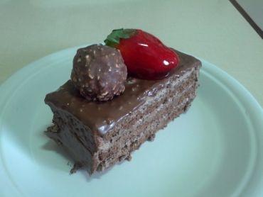 Receita de Torta Ferrero Rocher