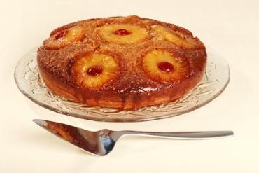 Receita de Bolo Invertido de Abacaxi - bolo-invertido-de-abacaxi