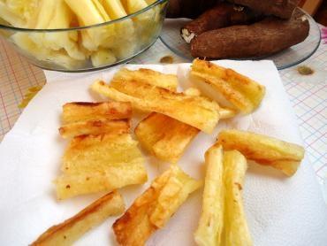 Receita de Mandioca Frita  - mandioca-frita
