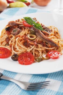 Receita de Espaguete à Putanesca - espaguete-a-putanesca