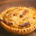 Mini Quiche de Cebola Light