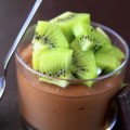 Mousse de Chocolate Light com Kiwi