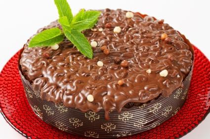 Receita de Bolo Gelado de Chocolate com Nutella