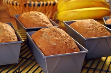 Receita de Pão de Banana - pao-de-banana
