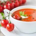 Sopa Cremosa de Tomate Fresco