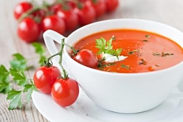 Receita de Sopa Cremosa de Tomate Fresco - sopa-cremosa-de-tomate-fresco