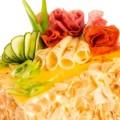 Torta de Salame e Queijos