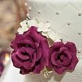 Bolo de Andares com Flores