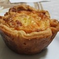 Quiche Bacon e Alho Poró