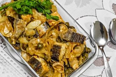 Receita de Bacalhoada com Legumes e Purê - bacalhoada-com-legumes-e-pure