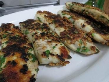 Receita de Peixe com Crosta de Amendoim - PEIXE-COM-CROSTA-DE-AMENDOIM
