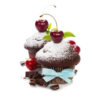 Receita de Bolinho de Chocolate e Cereja - Bolinho-de-chocolate-e-cerejas