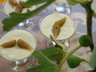 Receita de Mousse de Figo em Calda - Mousse-de-Figo-em-Calda-380x285