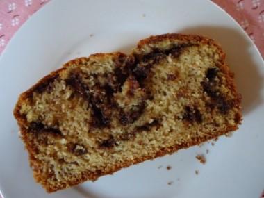 Receita de Pão de Banana com Chocolate - Pão-de-banana-com-chocolate-2-380x285