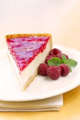 Receita de Torta de Framboesa - Torta-de-framboesa-266x400