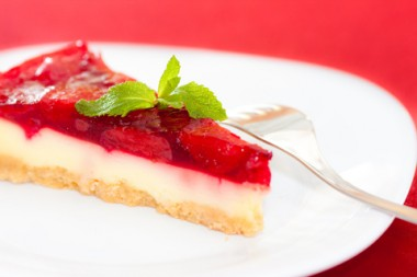 Receita de Torta de Morango - Torta-de-morango-380x253