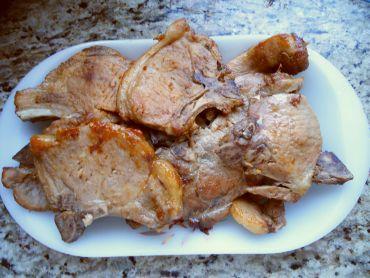 Receita de Bisteca de Porco Macia - Bisteca-de-porco-macia