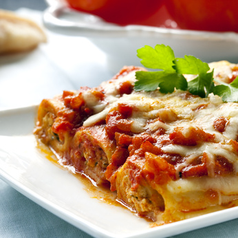 Receita de Caneloni de Linguiça e Queijo - Caneloni-de-linguiça-e-queijo