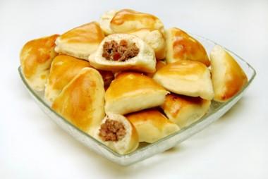 Porção de mini esfihas de carne