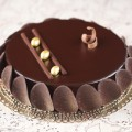 Chocolate Glazed Mousse Cake