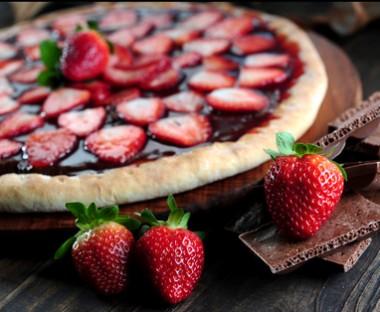 Receita de Pizza de Chocolate - Pizza-de-chocolate-380x312