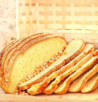 Receita de Pão de Milho - Pão-de-milho