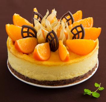 Receita de Torta de Chocolate e Laranja - Torta-de-chocolate-e-laranja