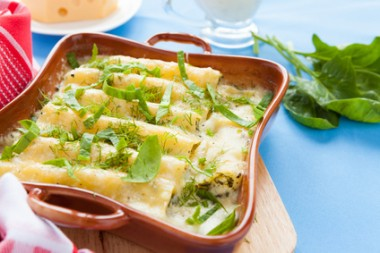 cannelloni baked in the oven