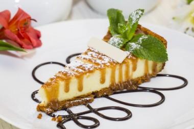 Receita de Cheesecake de Mel - Cheesecake-de-mel-380x253