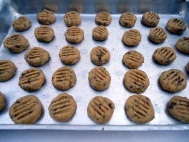 Receita de Biscoito de Nozes e Chocolate - Biscoito-de-nozes-e-chocolate-4-380x285
