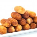 Croquettes breaded
